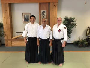 Gudan, Kaulukukui, and Gallo Sensei